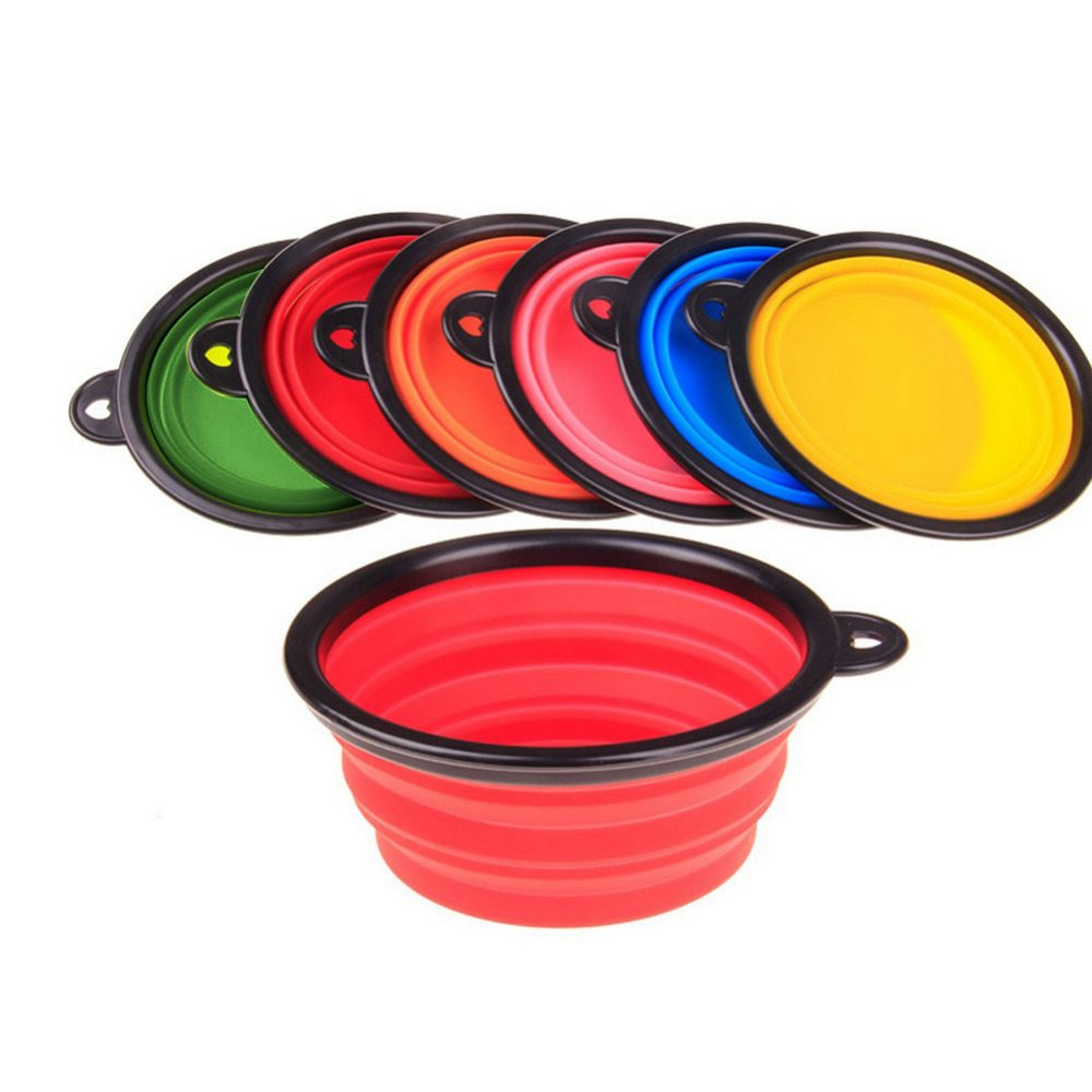 Collapsible Silicone Bowl For Dog And Cat Andogo