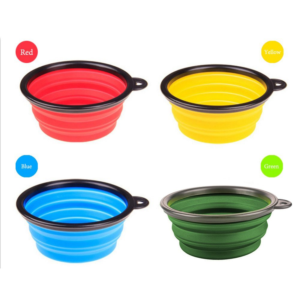 Collapsible Silicone Bowl For Dog And Cat