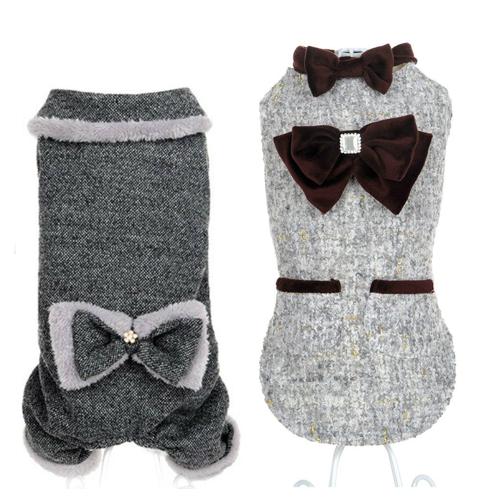 Luxury Fur Debutante Pet Clothes