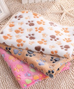 Fleece Comfy Blanket Floral Design