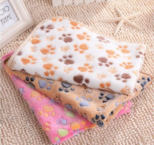 Fleece Comfy Blanket Floral Design