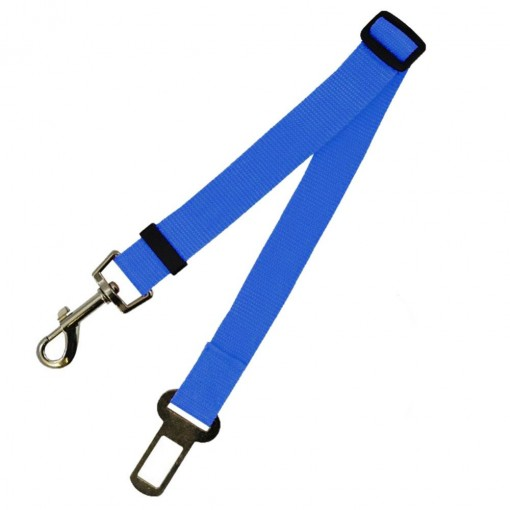 Dog Car Seat Belt - Blue
