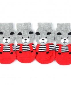 Anti-Slip Pet Sweet Knitted Socks