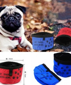 Collapsible Travel Food Dish for Pet