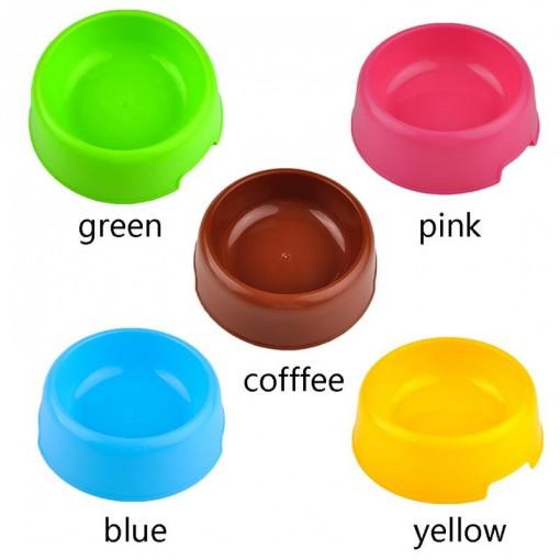 Disposable Pet Plastic Feeding Bowl