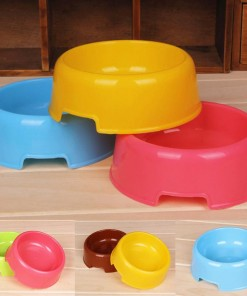 Disposable Pet Plastic Feeding Bowl