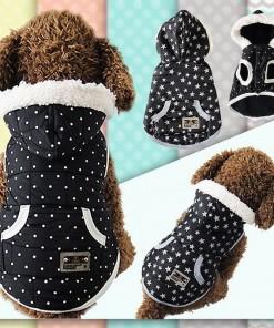 Black Dress Dog Apparel Hoodie Jacket