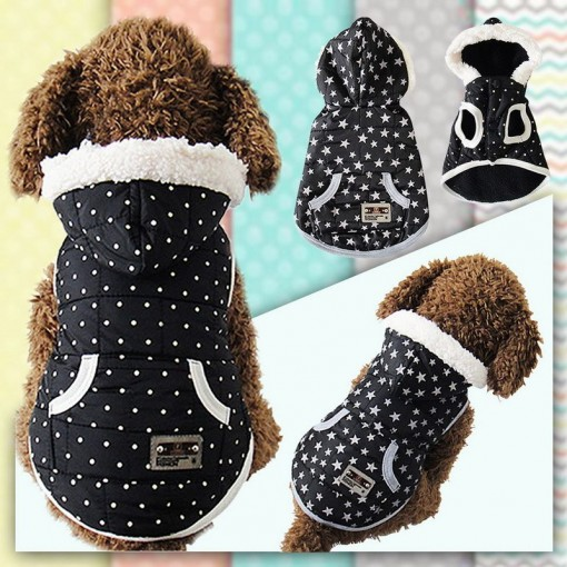 Black Dress Dog Apparel Hoodie Jacket
