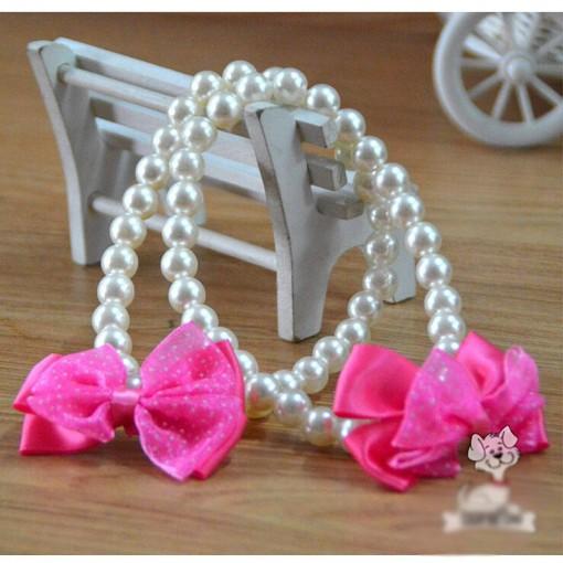 Pearl Fashion Bowtie Collar wedding Accessory