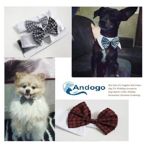 Tie Bowtie Collar Pet Wedding Accessory