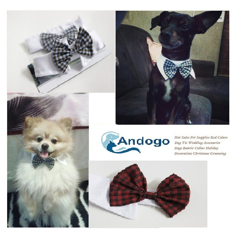 Tie Bowtie Collar Pet Wedding Accessory