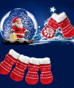 Pet Christms Non-Slip Socks