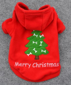 Christmas Puppy Coat Apparel