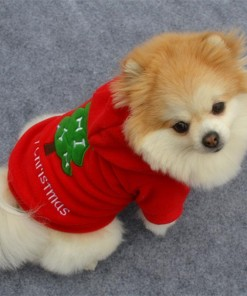 Christmas Puppy Coat Apparel