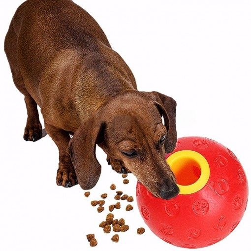 Refillable Ball Pet Feeder Dispenser