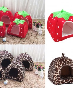 Foldable Pet Cave House