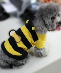 Bumble Bee Wings Fleece Hoody Coat Costume