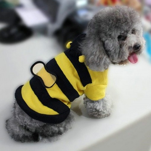 Bumble Bee Wings Fleece Hoody Coat Costume