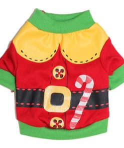Christmas Dog Clothes Santa Doggy Costumes