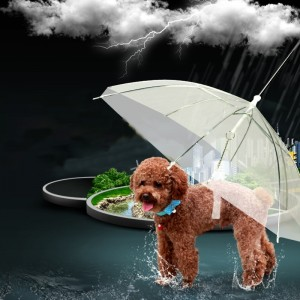 2018-Newest-Hot-Transparent-Pet-Umbrella-Portable-Built-in-Leash-Puppy-Umbrella-Cat-Raincoat_1